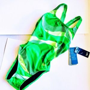 New! Speedo The Pro LT Swimsuit, Sz 30